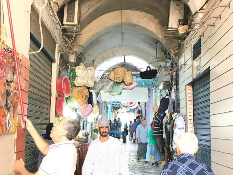 Delving into the souk of the Medina el Sousse Thereshellip