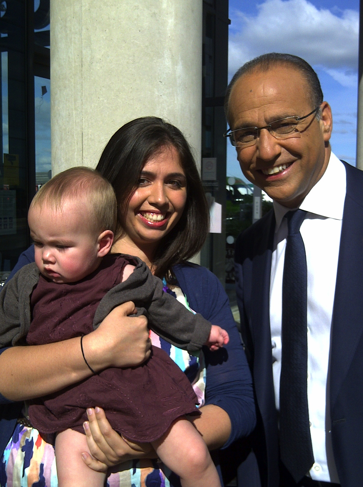 Mummy and Boo with Theo Paphitis