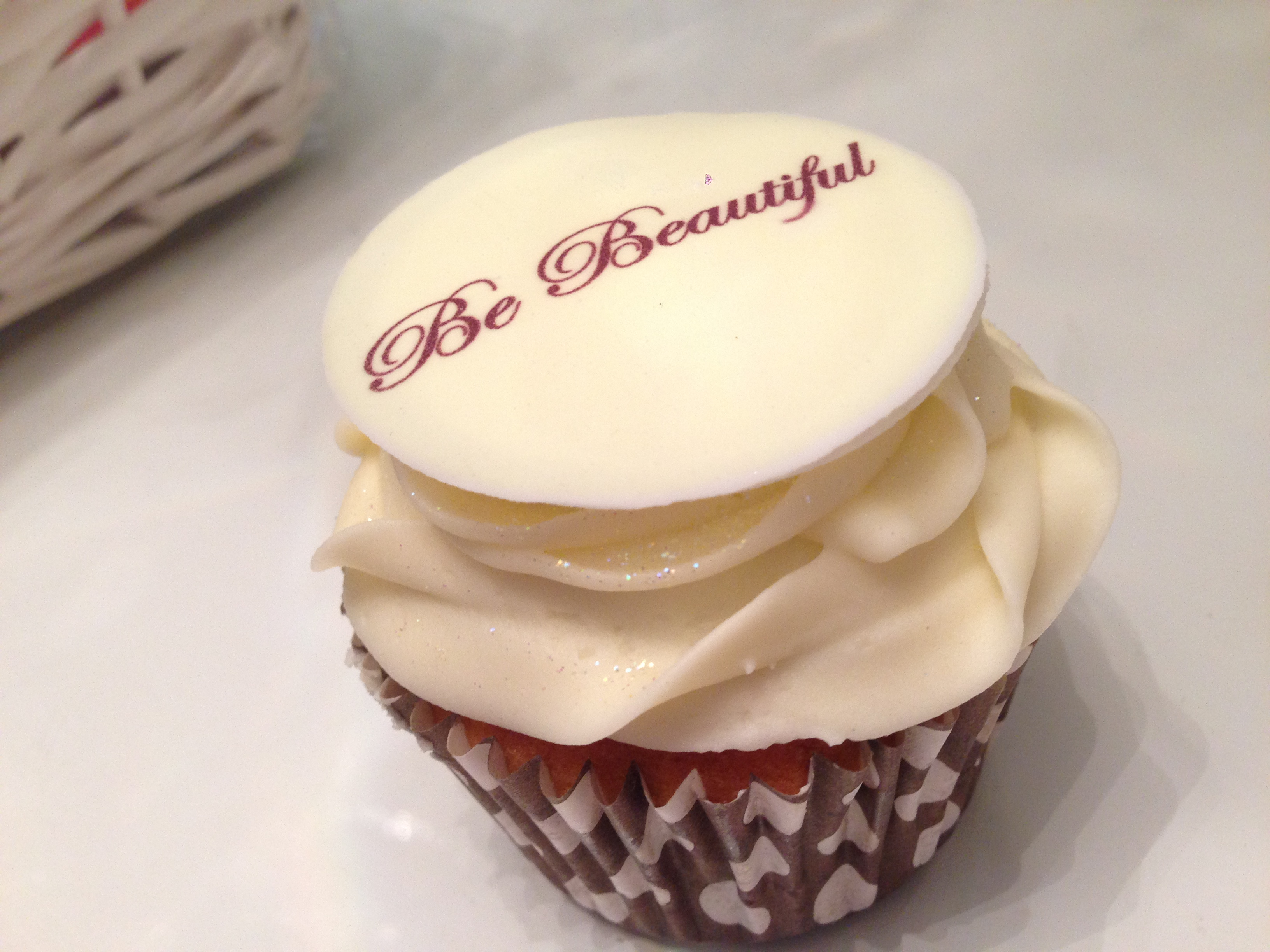 Be Beautiful Cupcake