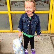 Boo's 1st Day at Nursery!