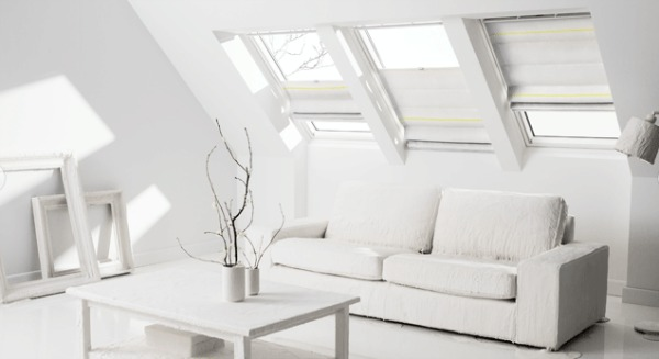 Natural light with velux windows and accessories mummy for Velux accessori