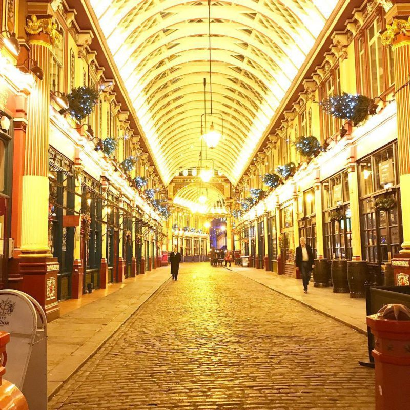 An evening spent at the spellbinding Leadenhall Market with pizzaexpresshellip
